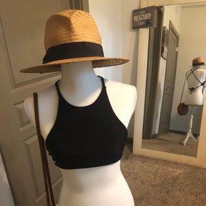 Black nasty gal bikini top size medium